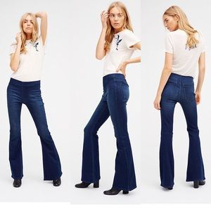 NEW Free People Penny pull on flares size 24